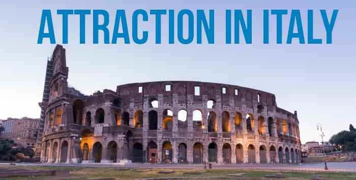 Best tourist attractions in Italy
