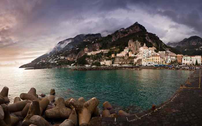 Tours of the Amalfi coast